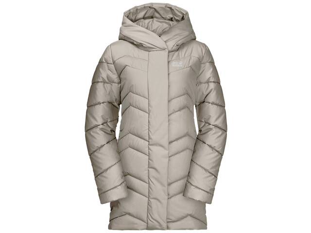 Jack Wolfskin Kyoto Jas Dames, dusty grey